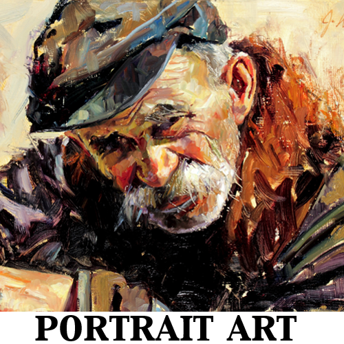 Portrait Art Portfolio Jeremy Winborg